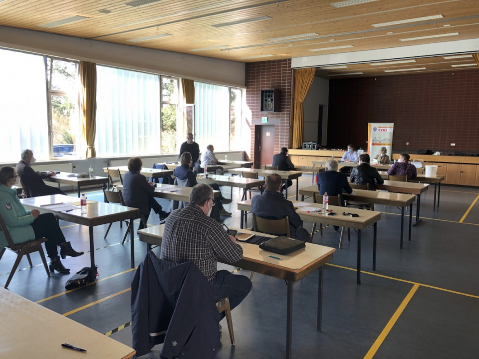 1. CDU-Fraktionssitzung am 28.3.21