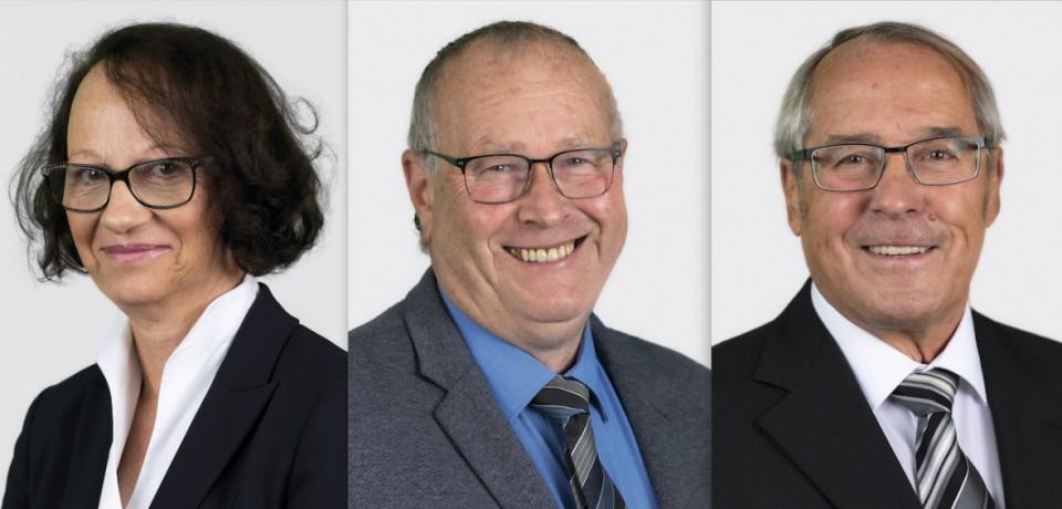 Vlnr: Dr. Cornelia Lietz, Marco Herrer, Dr. Rudolf Bimczok